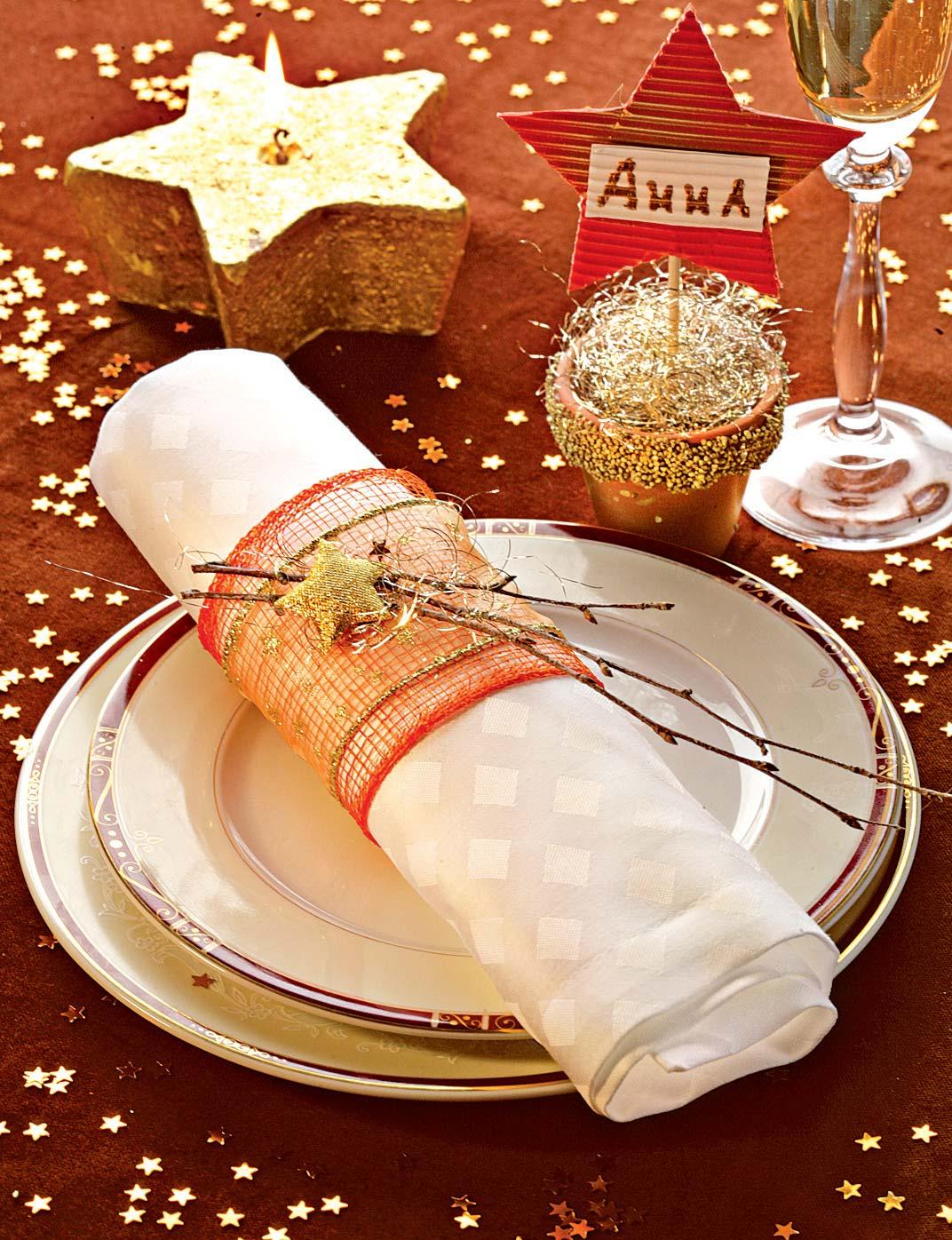 Украшения для салфеток новый год
